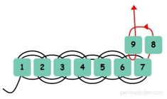 Seed bead jewelry tuto brick stitch ~ Seed Bead Tutorials Discovred by : Linda Linebaugh Seed Bead Crafts, Beaded Crafts, Seed Bead Jewelry, Seed Beads, Bead Loom Patterns, Jewelry Patterns, Beading Patterns, Beaded Bracelets Tutorial, Bead Loom Bracelets