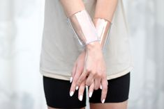 DIY transparent cuffs