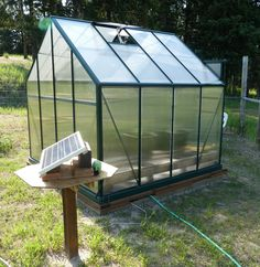 Grandio Greenhouses are a great DIY greenhouse kit for the beginner to expert gardener. The Grandio Greenhouse models feature 6mm and 10mm twin wall panels, heavy duty powder coated aluminum extrusions, sliding doors, roof vents and much more.
