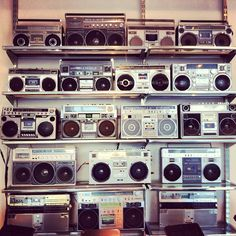 Boom boxes at Ogilvy