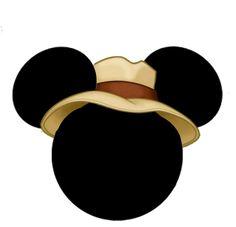 "Heads of Mickey and Minnie ""jungle animals"". - Heads of Mickey and Minnie ""jungle animals"". Bolo Mickey E Minnie, Mickey Mouse Head, Disney Mickey, Safari Birthday Party, Mickey Birthday, Mickey Party, Birthday Ideas, Birthday Parties, Disney Frames"