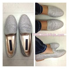 Steven by Steve Madden rhinestone shoe. I so love loafers!