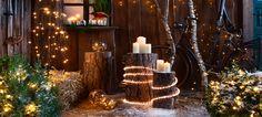 Weihnachten bei Dehner Lichterkette