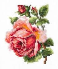 Image result for Rose Cross Stitch Pattern