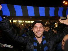 Lukas Podolski in Inter Milan on loan | Enko-football