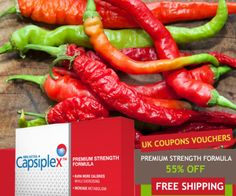 http://www.ukcouponsvouchers.com/coupons/capsiplex-coupon-code/ #CapsiplexCoupons & Discount Code – 55% Off #Capsiplex + Free Shipping Deals #FatBurner