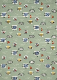 Marian Mahler textile design: still looks great after all these years.