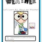 This file is a 27 page download of my Weather mini lessons. It is filled with some of my favorite weather activities and experiments.   This file includes the following:   Weather Song  Weather Graph  Weather Graph Response Sheet  Cloud KWL  Cloud Response Sheet  Cloud Writing Prompt  Cloud Acrostic Poem  Cloud Type cards  Cloud Type Flip Book Directions and Template  On Your Mark, Get Set, Blow Experiment  Tornado KWL  Tornado Diagram  A Colorful Tornado Experiment Directions  $5.99