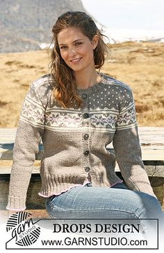 Nordic - Free knitting and crochet patterns by DROPS Design, . Nordic – Free knitting and crochet patterns by DROPS Design, Drops Design, Motif Fair Isle, Fair Isle Pattern, Fair Isle Knitting Patterns, Knit Patterns, Tejido Fair Isle, Norwegian Knitting, Magazine Drops, Ravelry