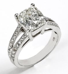 Cute Engagement Ring #ring