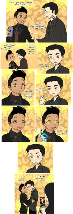 Can I see? ... From the hands off umkasandiary ... shadowhunters, alexander 'alec' lightwood, magnus bane, the mortal instruments, malec, isabelle lightwood