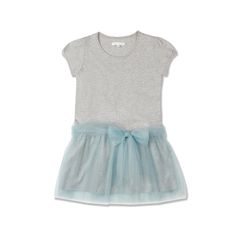 Tutu Dress, PALE GREY MELANGE - Tutu Dress