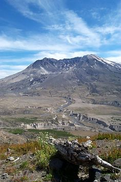 Mount St. Helens. If you have been there you would understand.