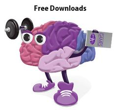 """The """"Work It"""" series provides a variety of activities that are aimed at stimulating the brain.  Choose the activities that match the abilities of the person with dementia.  Each workbook includes easy activities and more difficult activities.  These are free downloadable and can also be purchased through our website at www.dementiability.com."""