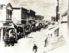 Commerce Street, San Antonio, Texas in the 1870s