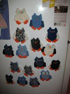 Crochet - Lot's of owls