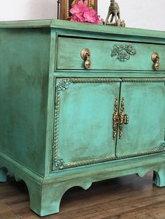 Stunning Set of Nightstands Cottage Style/ Farmhouse/ French / #ad