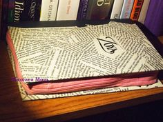 DIY Book Clutch, quick and easy, cheap and chic ~ Mascara Mom