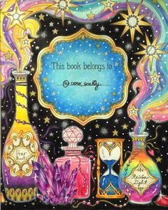 """""""Magical Down"""" by Hanna Karlzon, colored by @vero_scully"""