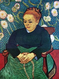 Portrait of Madam Roulin  Vincent Van Gogh