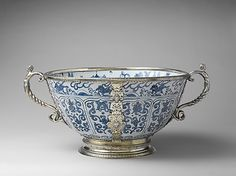 Bowl (part of a set) ca. 1585 British, London and Chinese