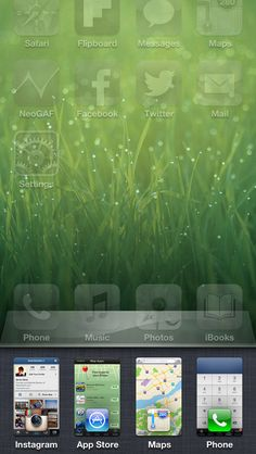 Rethinking the App Switcher for the iPhone 5