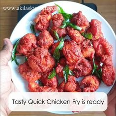 Quick chicken fry is an easy chicken recipe which doesn't require more marination time. You can finish this chicken fry in just 10 to 15 min of time Indian Dessert Recipes, Ethnic Recipes, Different Chicken Recipes, Carrot Halwa Recipe, Broiler Chicken, Paratha Recipes, Fried Chicken Recipes, English Food, Biryani