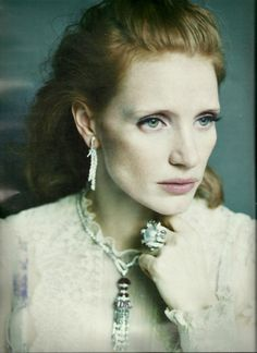 Jessica Chastain: The New Guard - W by Paolo Roversi, May 2012