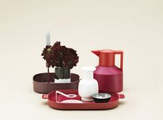 Nabo Tray, Geo Vacuum Flask, Nyhavn Vase, Nocto Candlestick, Folk Candleholder - Normann Copenhagen
