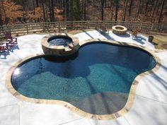 Midnight Blue Pebble Tec House Projects Pinterest Midnight - Black pearl pebble tec pool bottom