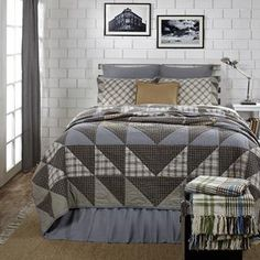 Maddox Luxury King Quilt_VHC Brands.  Visit our website Heritage Quilt Company for more patterns.