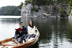 the beloved and i. canadian lake canoe trip