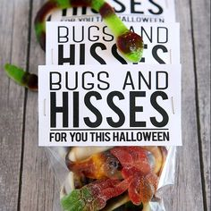 Bugs And Hisses Treat Bag Toppers
