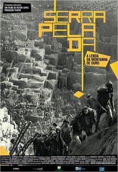 Serra Pelada, A Lenda da Montanha de Ouro #Movie #Poster