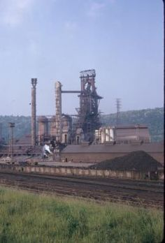 Dorothy Blast Furnace at the US Steel plant in Duquesne, PA. The plant was originally built by the Duquesne Steel Company in 1885, acquired by Carnegie Steel Company in 1898. Carnegie Steel was acquired by US Steel in 1901. Michigan Tech  Image Archive