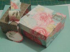 Box made from Single 12 x 12 Sheet