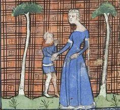 14th c (ca.1365) France Roman de la Rose fol 7r