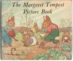Margaret Tempest British bunny cuteness