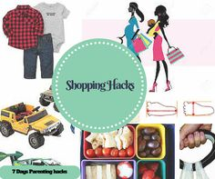 Shopping with kids is a task in itself but with these hacks, moms are going to have a lovely time shopping with them.Like not carrying their shoes for sizes.