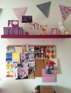 My #inspirationboard covered in an assortment of #colours and #patterns. Everything from design, floral arrangements, gardening and interior design. What inspires and motivates you?