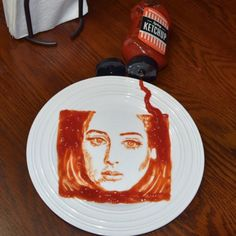 Adele food art: We're not even going to start this out with a Hello pun. Artwork like this needs no introductio...