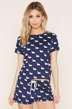 Forever21 Swan Pajamas