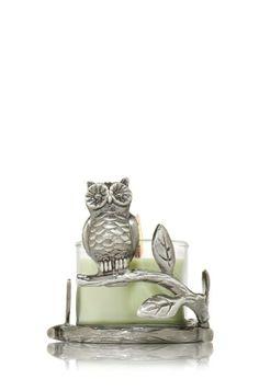 Mini Owl Cast 1.3 oz. Mini Candle Sleeve - Slatkin & Co. - Bath & Body Works UM OMG OWLS!!!