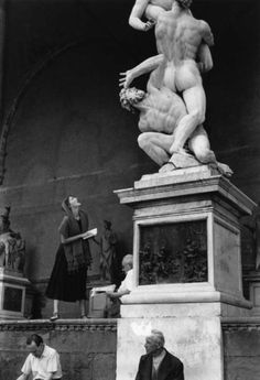 by Ruth Orkin  From the American Girl in Italy series, 1950