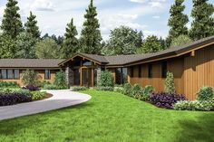 One-Of-A-Kind with an Asterisk - 69664AM | Architectural Designs - House Plans