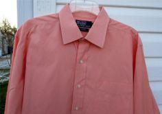 Men's Polo Ralph Lauren Classic Fit Long Sleeve Dress Shirt Sz 16 1/2 32/33