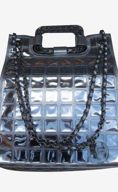 Chanel Silver Shoulder Bag