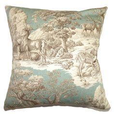 Found it at Wayfair.co.uk - Feramin Toile 100% Cotton Cushion Cover