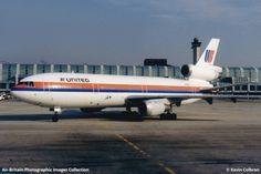 United Airlines McDonnell Douglas DC-10-10