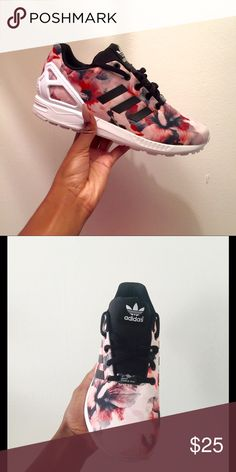 Adidas ZX Flux Adidas ZX Flux   Used for 2016 Miami Swimweek. With box. Kids Size: 6 adidas Shoes Sneakers